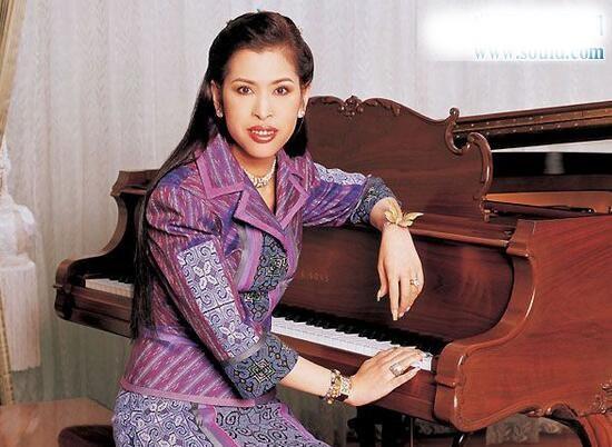 泰国朱拉蓬公主,超级古筝大才女(与中国结缘)