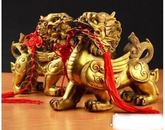 貔貅是什么动物,是中国民间传说中的神兽(貔貅读pí xiū)