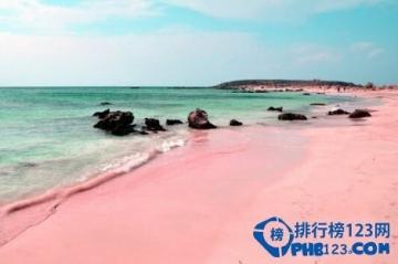 全球最有特色的沙滩排名:粉色沙滩魅力难挡(蜜月圣地)