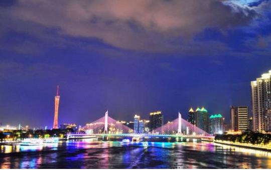 广州晚上哪里夜景好看?盘点广州适合夜晚去的景点